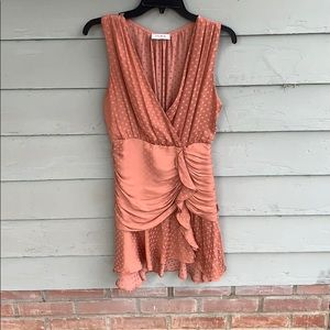 Silk party dress